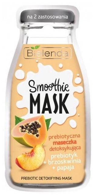 Bielenda Smoothie Face Mask With Prebiotic 10g Peach & Papaya