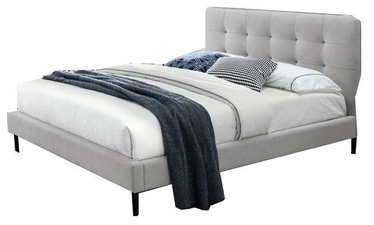 Signal Meble Bed Sally Grey 175x214cm