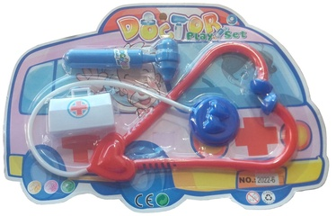 Rotaļlietu ārsta komplekts Pareto Centrs, 3 gab.