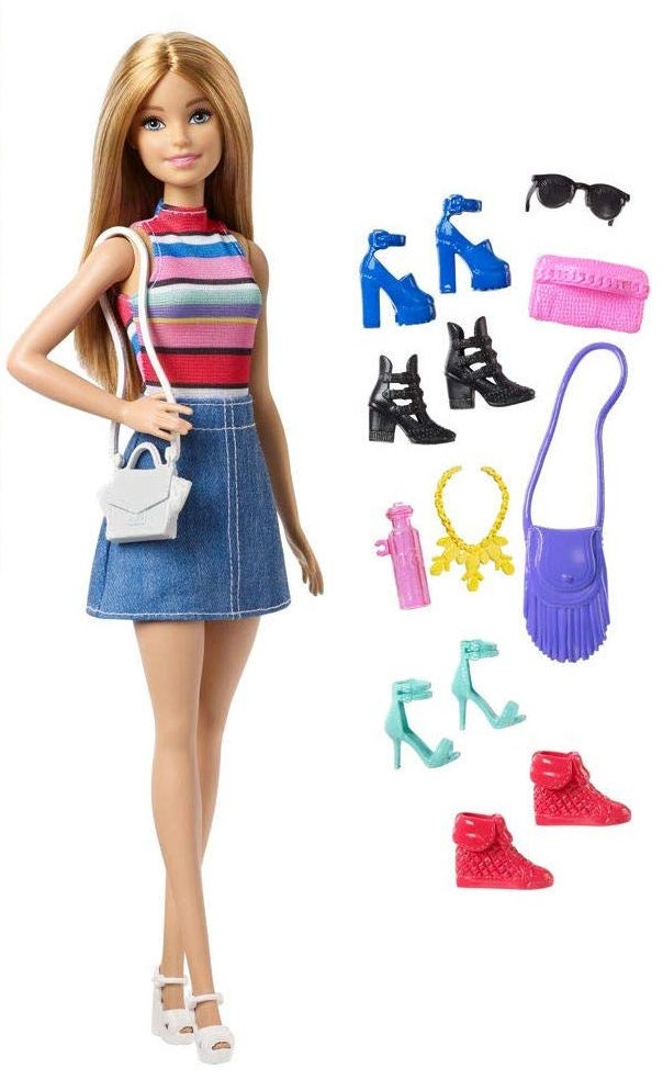 Barbie Doll Careers Pop Star Idol Pefrect Outfit With Microphone And Stand