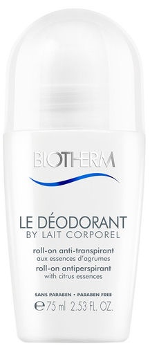Biotherm Le Deodorant By Lait Corporel 48h Roll-On Antiperspirant 75ml