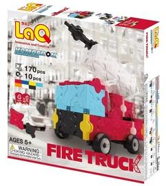 Konstruktorius LaQ Japanese Hamacron Fire Truck