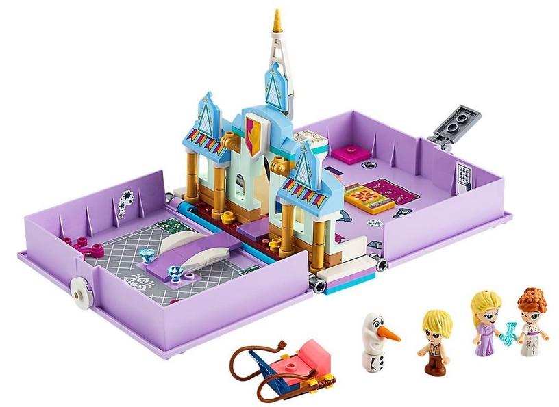 Konstruktorius LEGO®Disney Princess 43175 Anos ir Elzos nuotykių knygelė