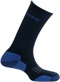 Носки Mund Socks Cross Country Skiing Black/Blue, 46-49, 1 шт.