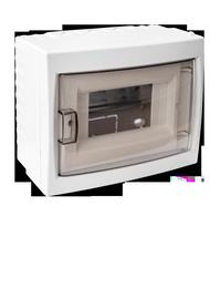 Virštinkinė automatinių jungiklių dėžutė Mutlusan, 6 modulių