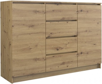 Top E Shop Chest of 2 Doors 4 Drawers Artisan