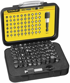 Stanley Bit Set 61pcs 1-13-902