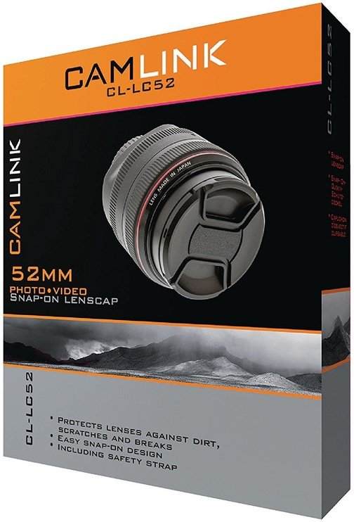 CamLink Snap-On Lens Cap 52mm