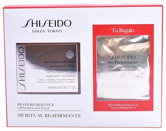 Shiseido Bio Performance Lift Dynamic Cream 50ml + 2pcs Super Exfoliating Disc