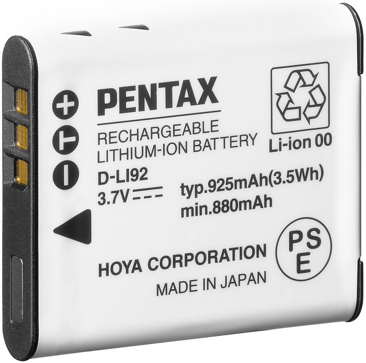 Pentax D-LI92 Lithium-Ion Battery 925mAh