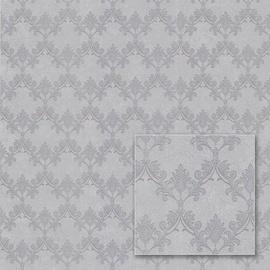 Flizelino pagrindo tapetas Sintra 540633 Valencia, pilkas klasikinis raštas