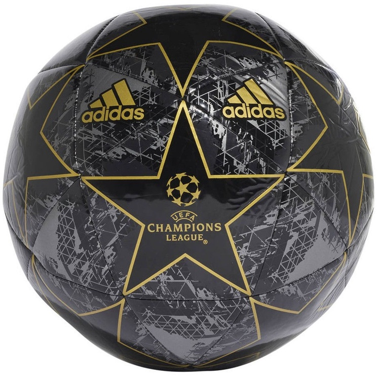 Adidas UCL Finale 19 Capitano Ball DY2554 Black Size 5