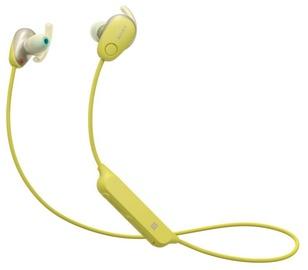 Ausinės Sony WI-SP600N Yellow, belaidės