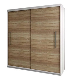 Idzczak Meble Rico 2D Wardrobe White/Sonoma Oak