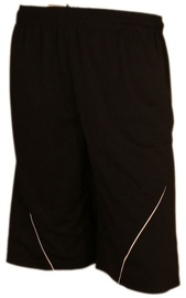 Bars Mens Football Shorts Black 186 XS