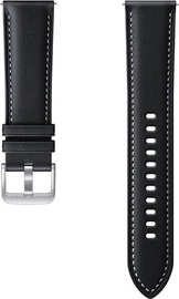 Samsung Leather Band For Watch3 22mm Black