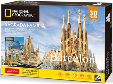 CubicFun National Geographic Barcelona Sagrada 3D DS0984H