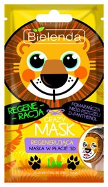 Bielenda Crazy Mask Regenerating Sheet Mask Lion 1pcs