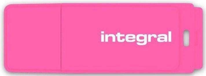 USB atmintinė Integral Neon Pink, USB 2.0, 8 GB