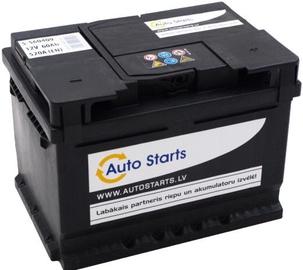 Аккумулятор Auto Starts Standart, 12 В, 60 Ач, 520 а
