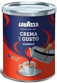 Молотый кофе Lavazza Classico Crema E Gusto, 0.25 кг