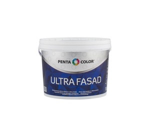 Krāsa dispersijas Pentacolor Ultra Fasad, 10 l, balta