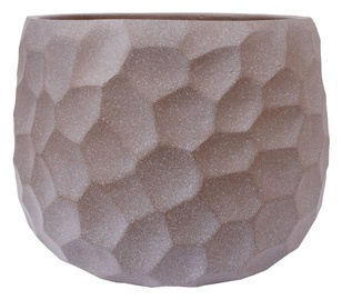 Home4you Flower Pot Cubo-2 D40xH28cm Taupe
