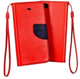 Mocco Fancy Book Case For LG K350 K8 Red/Blue