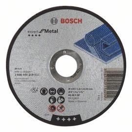 Lõikeketas Bosch, 125 x 1,6 x 22,23 mm