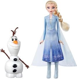 Lelle Hasbro Disney Frozen II Glow Olaf & Elsa