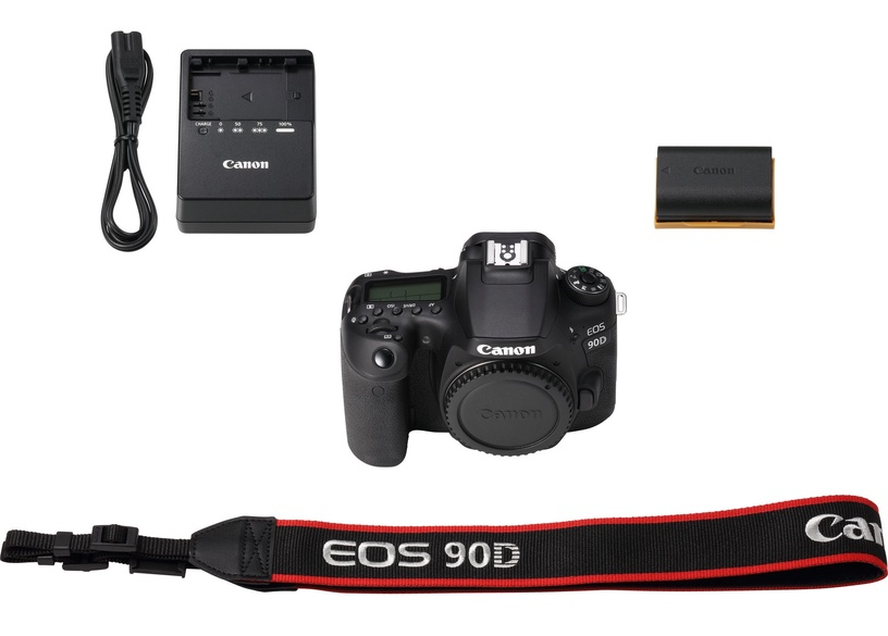 Canon EOS 90D + EF-S 18-200mm f/3.5-5.6 IS Black