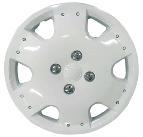 Bottari White Mallorca Wheel Covers 4pcs 15""