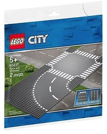 Pagrindas Lego City Supplementary Curve and Crossroad 60237
