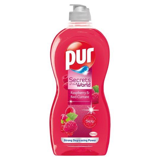 Nõudepesuvahend Pur Power Raspberry, 450 ml