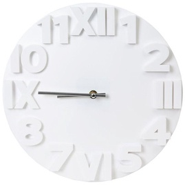 Platinet Modern Wall Clock 42986 White