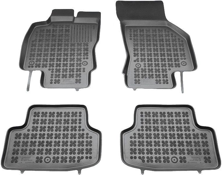 Gumijas automašīnas paklājs REZAW-PLAST Seat Leon ST 2014, 4 gab.