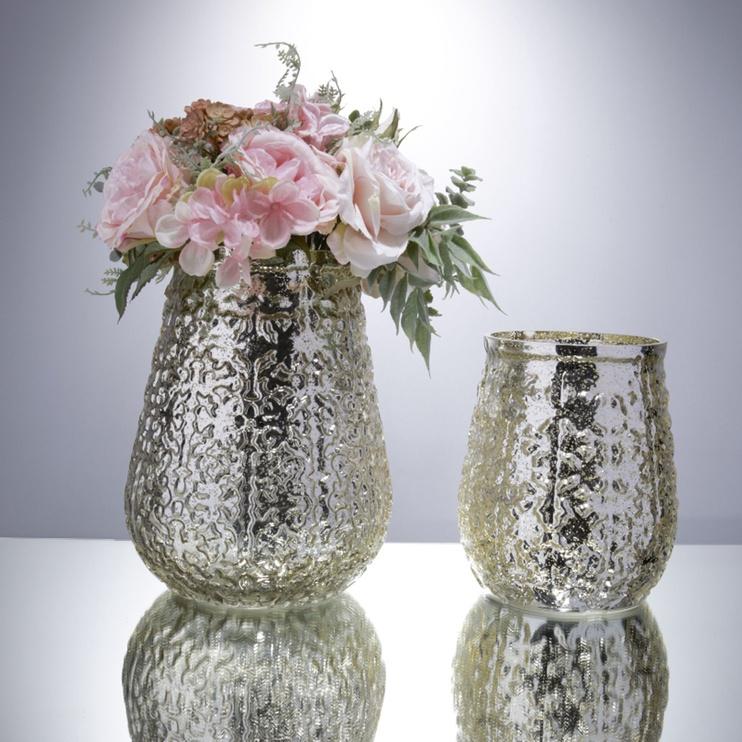 Home4you Luxo Vase D16x18cm Metallic