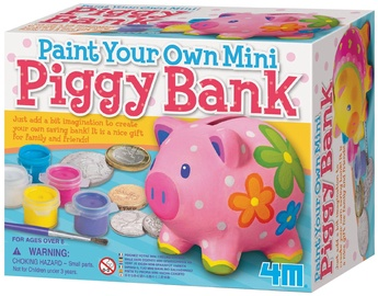 4M Paint Your Own Mini Piggy Bank 4505