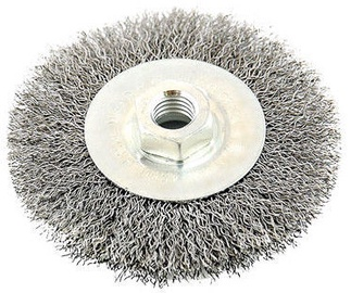 Ega Steel Wire Wheel Brush 120mm