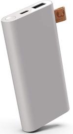 Uzlādēšanas ierīce – akumulators (Power bank) Fresh 'n Rebel, 6000 mAh, pelēka