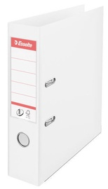 Esselte No.1 Vivida Lever Arch File PP 7.5cm White