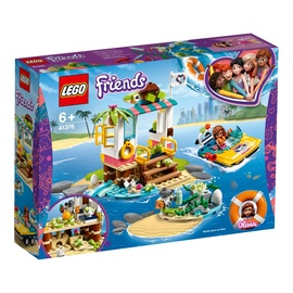 Konstruktorius LEGO Friends Turtles Rescue Mission 41376