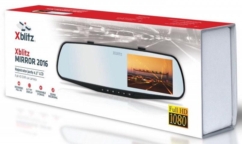 Xblitz Mirror Car Recorder