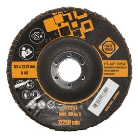LamellketasForte Tools 125x22,23 mm,  nr 80
