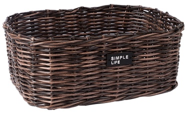 Home4you Basket Ruby-2 39x29x16cm Brown