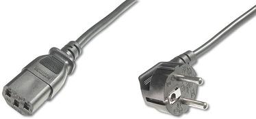 Assmann Cable Schuko / IEC C13 Black 0.75m
