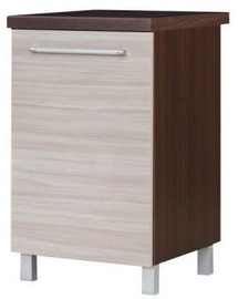 Bodzio Loara Bottom Cabinet Right 50DP Latte/Nut