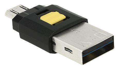 Картридер Delock Card Reader Micro USB OTG