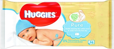 Huggies Pure 56pcs