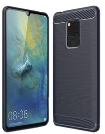 Hurtel Carbon Back Case For Huawei Mate 20 Blue